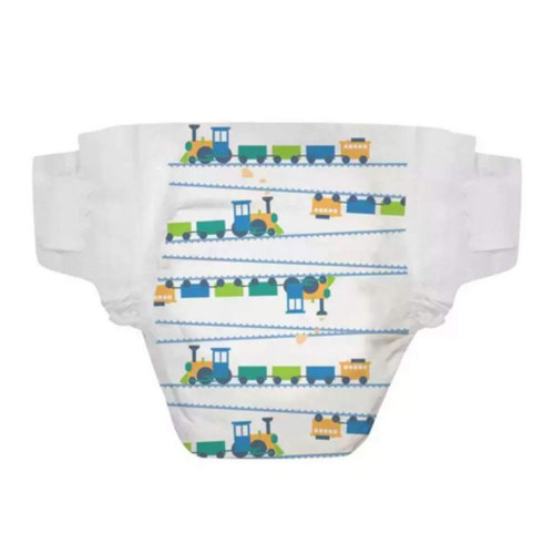 The Honest Company Diapers Size 3, 34 Count - Trains