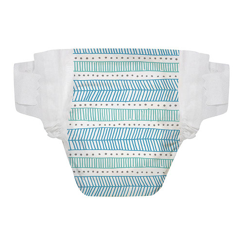 The Honest Company Diapers Size 5, 25 Count - Tribal Teal