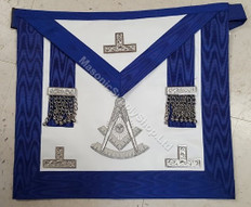 Past Masters Apron-27     Hand Embroidered