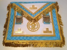 Centennial Trim PM Apron  with  Fringe & Lodge Badge