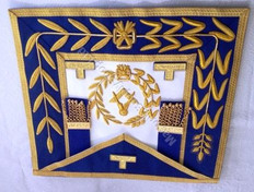 District Deputy Grand Master Dress Aprons No Fringe