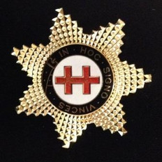 Knight Templar Perceptor Star Jewel  Gold