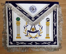 Past Masters Apron-18     Hand Embroidered