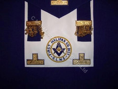 District Deputy Grand Master Undress Aprons  with District and Star