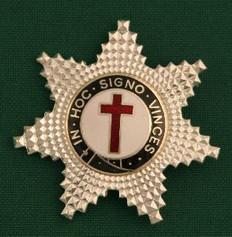 Knight Templar Member Star Jewel Gold