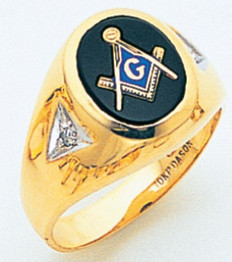 3rd Degree Masonic Gold Ring24