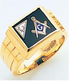 3rd Degree Masonic Gold Ring26