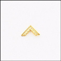 GOLD WM LAPEL PIN