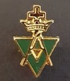 Lapel pin Allied Masonic Degree  PIN-AMD-E
