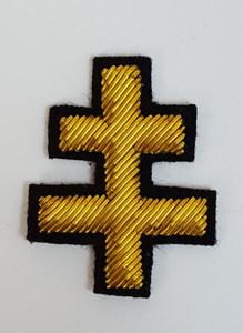 Knight Templar  Gold Cross