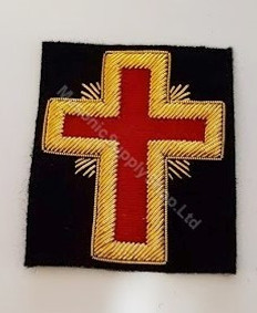 Knight Templar  Red Cross  Small