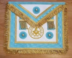 Centennial Trim MM Apron  with  Fringe & Lodge Badge