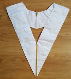 Royal Arch Officer Collar  White