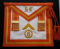 Past Masters Apron Holland  Lodge