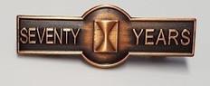 Seventy Year Members Pin