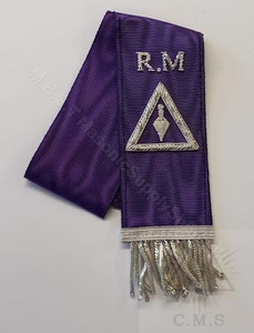 Royal & Select Masters Hand Embroidered Bible Markers  Royal Master degree