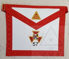 Royal Arch High Priest Apron with Number