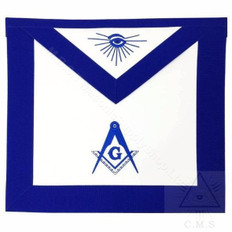 Master Masons Apron with Eye -14