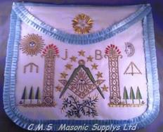 European ASSR  Master mason Apron