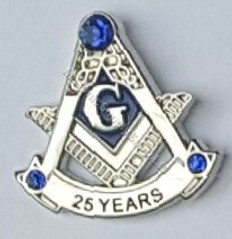 25 year Membership Lapel Pin
