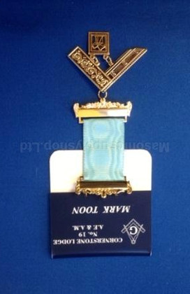 Name Badge/Name Tag with Jewel Hanger