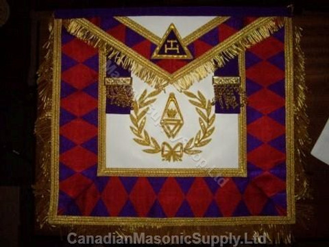 Royal Arch Grand Chapter Apron with Wreath