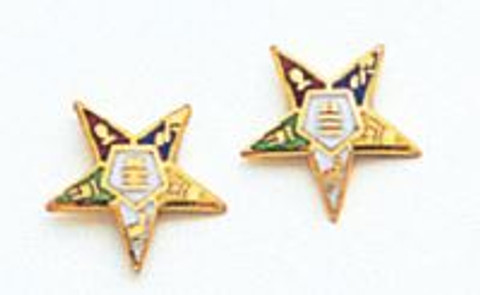 EASTERN STAR EARRINGS MAS921E