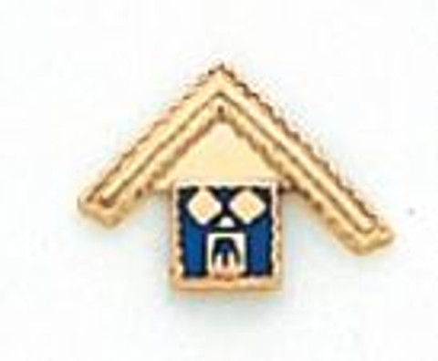 Gold Past Master Lapel Pin HOM4629T