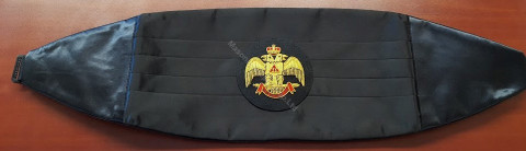 Scottish Rite Cummerbund  Wings down
