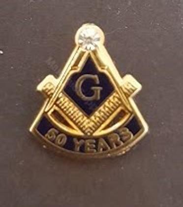 50 year Membership Lapel Pin-D