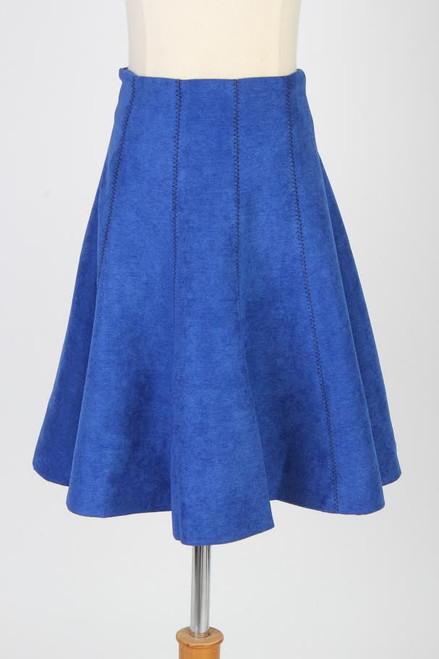 BGDK Suede Panel Skirt