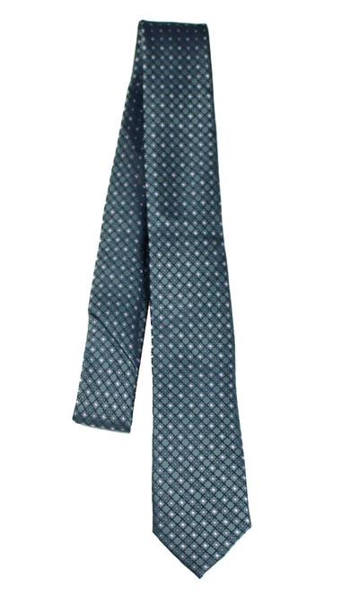 Boys Dark Grey Diamond Tie