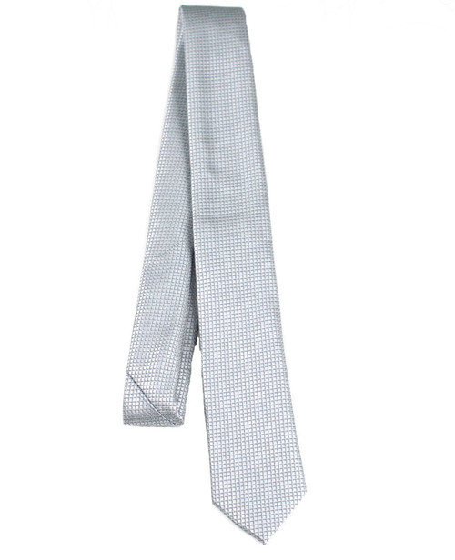 Boys Grey Dotted Tie