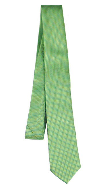 Boys Green Dotted Tie