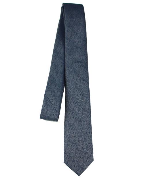 Boys Black Graphite Tie