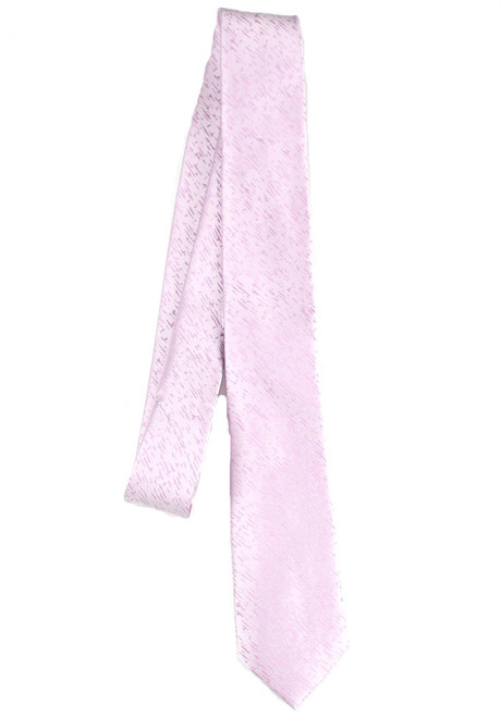 Boys Pink Lined Tie