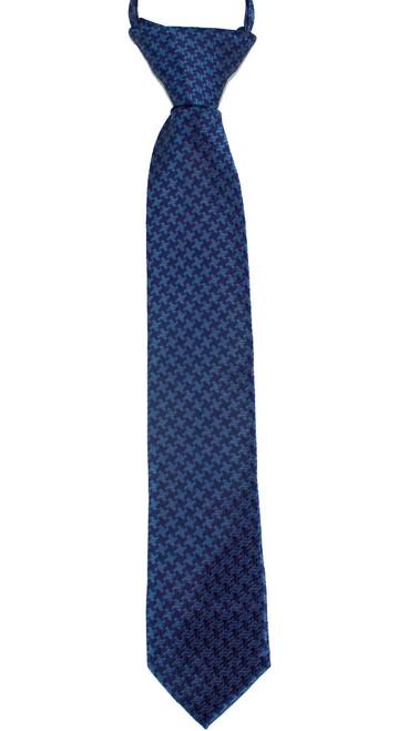 Boys Navy Cross  Zip Tie