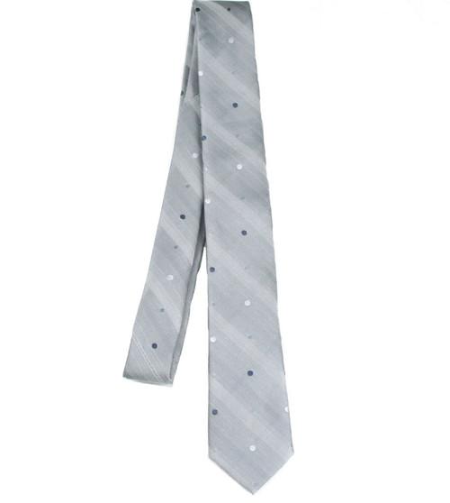 Boys Grey Rayon Tie