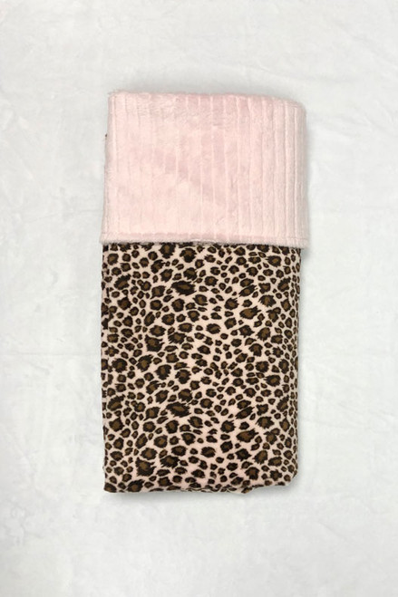 Babyboo Collection Baby Blanket Pink Cheetah