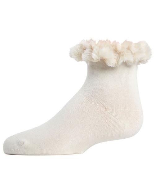Memoi Fur Cuff Anklet
