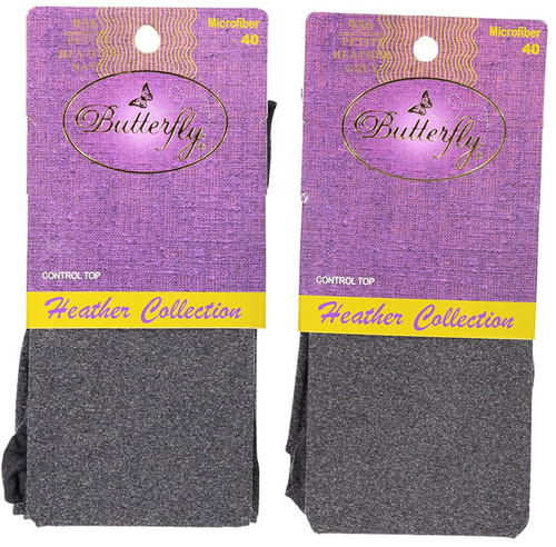 Butterfly  Ladies Heather Control Top Tights