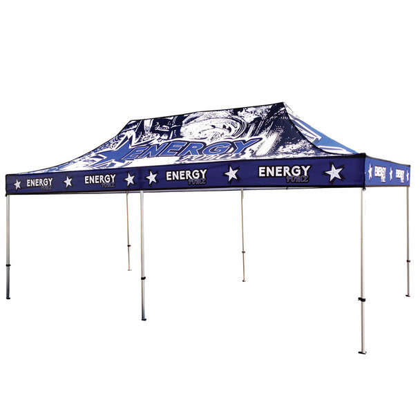 20FT Canopy UV Outdoor Tent Full Color UV Print Graphic Package