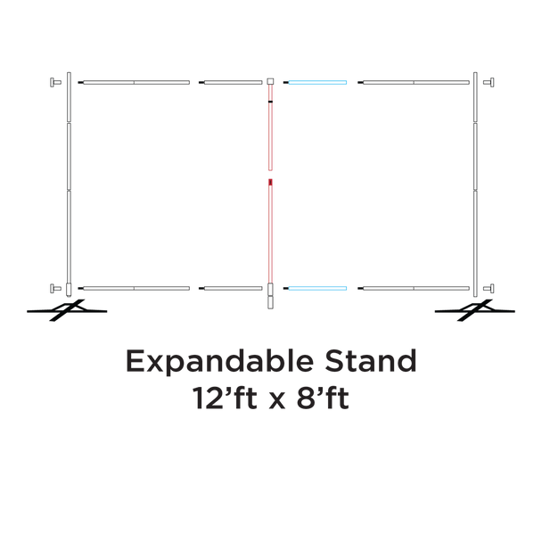 Stand - 8' x 12'