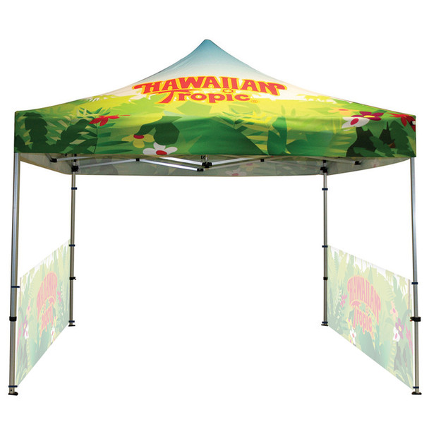 Classic Indoor/Outdoor Canopy Frame+Top+2 half sidewall single side
