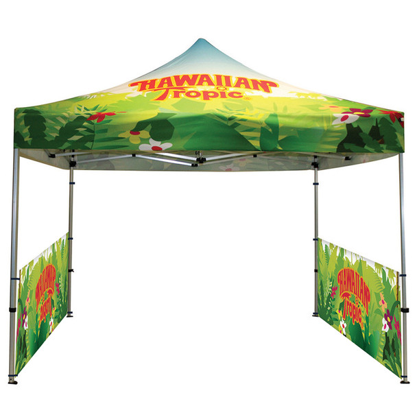Classic Indoor/Outdoor Canopy Frame+Top+2 half sidewall double side