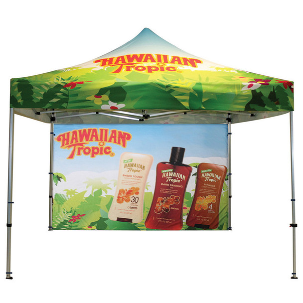 Classic Indoor/Outdoor Canopy Frame+Top+Backwall double side