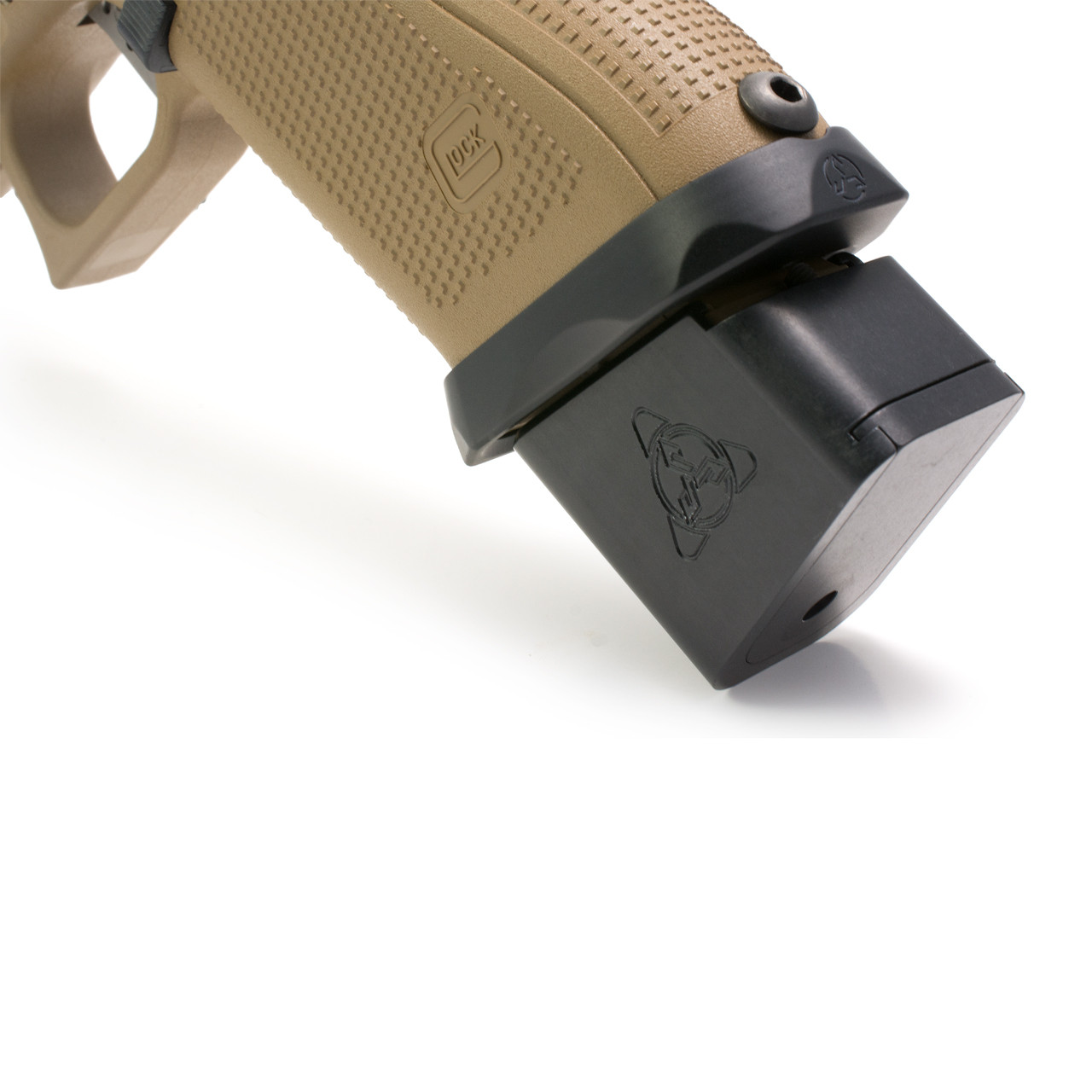 Suarez Plus 5 4 Magazine Extension For Glock 9mm Suarez International