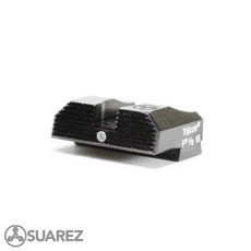 SUAREZ STANDARD HEIGHT TRITIUM REAR SIGHTS - FOR GLOCK 42 AND 43