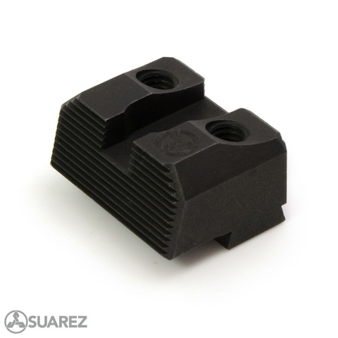 SUAREZ COWITNESS HEIGHT BLACK REAR SIGHT - FOR GLOCK
