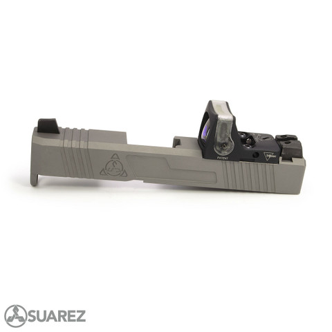 SUAREZ SUPERMATCH SI-26 TRIJICON RMR SLIDE (FOR GLOCK 26) - NP3
